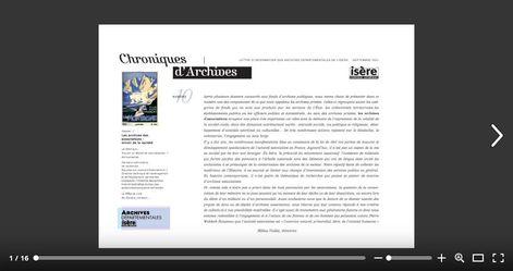 Feuilleter Chroniques d'Archives 10