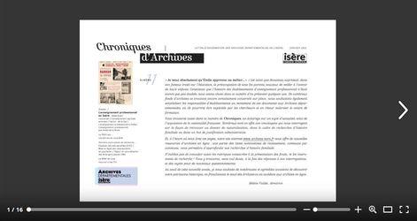 Feuilleter Chroniques d'Archives 11