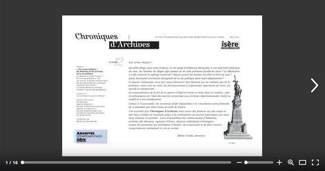 Feuilleter Chroniques d'Archives 12