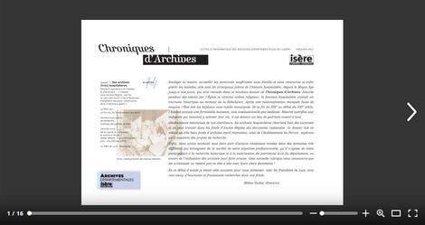 Feuilleter Chroniques d'Archives 14
