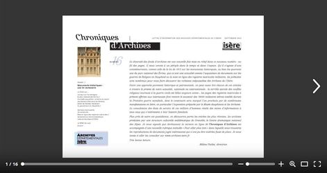 Feuilleter Chroniques d'Archives 16