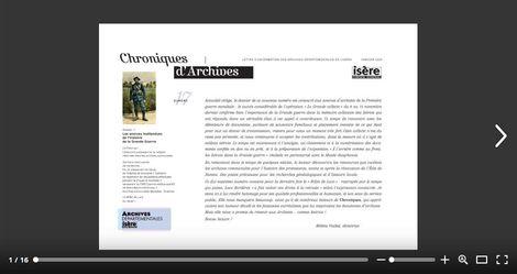 Feuilleter Chroniques d'Archives 17
