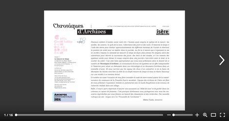 Feuilleter Chroniques d'Archives 18