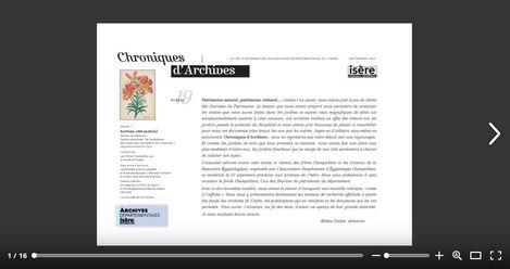 Feuilleter Chroniques d'Archives 19
