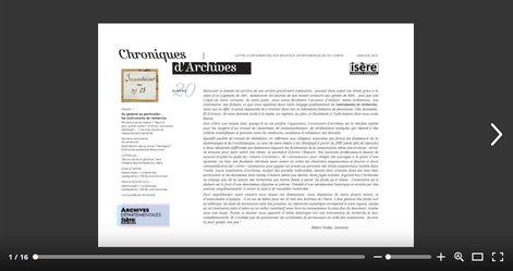 Feuilleter Chroniques d'Archives 20