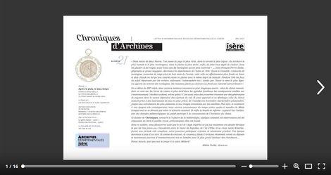 Feuilleter Chroniques d'Archives 21