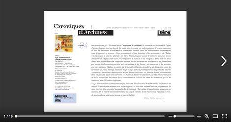 Feuilleter Chroniques d'Archives n24