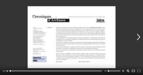 Feuilleter Chroniques d'Archives 2