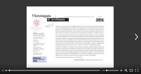 Feuilleter Chroniques d'Archives n30