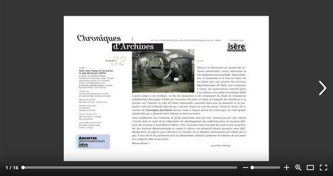 Feuilleter Chroniques d'Archives 32