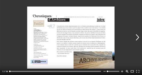 Feuilleter Chroniques d'Archives 33