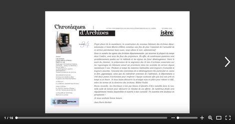 Feuilleter Chroniques d'Archives n°34