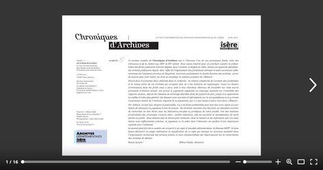 Feuilleter Chroniques d'Archives 6